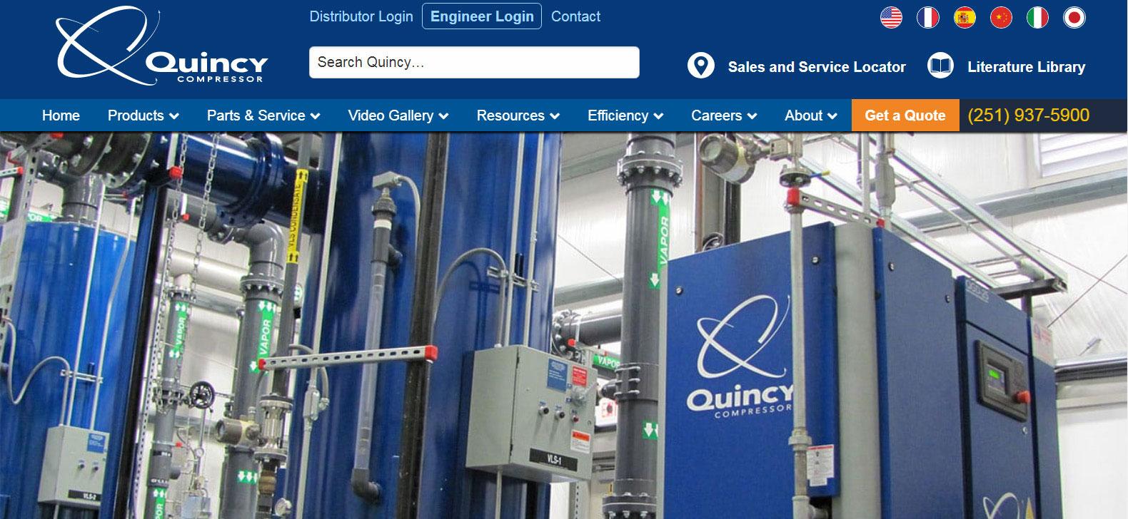 quincycompressor
