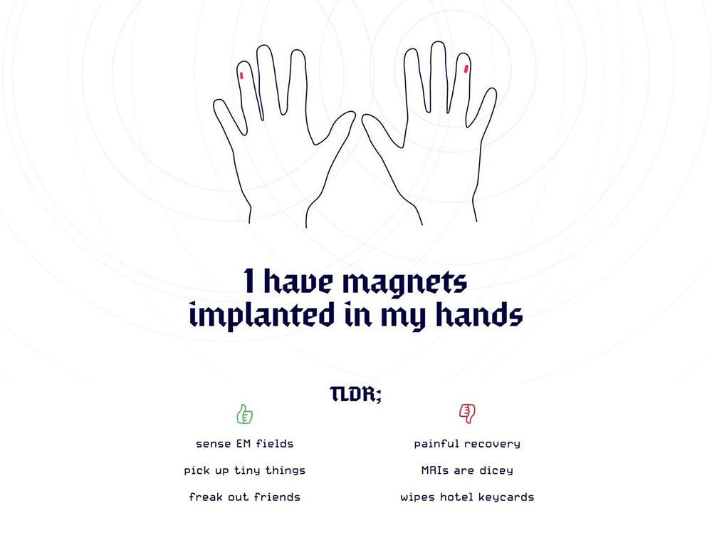 Magnet-Finge