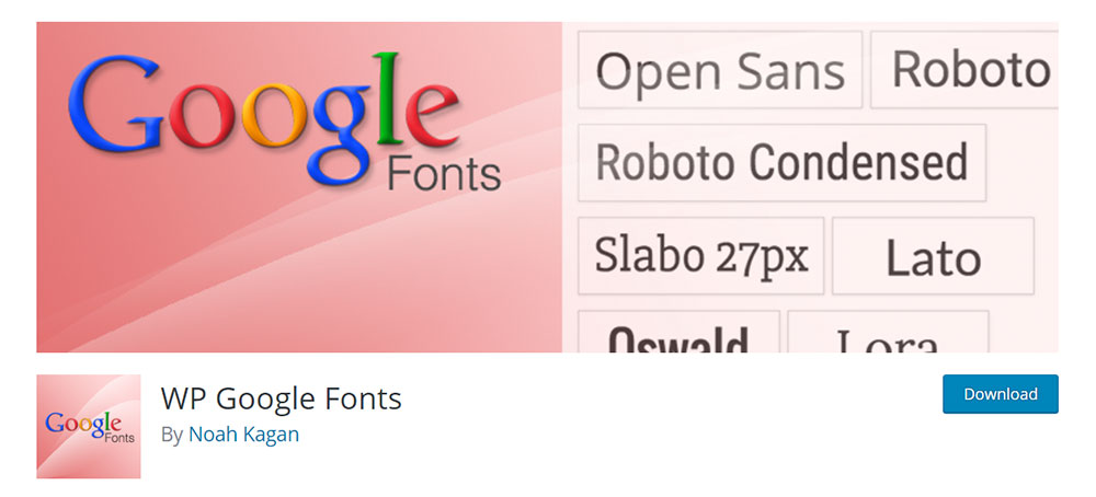 WP_Googlefonts