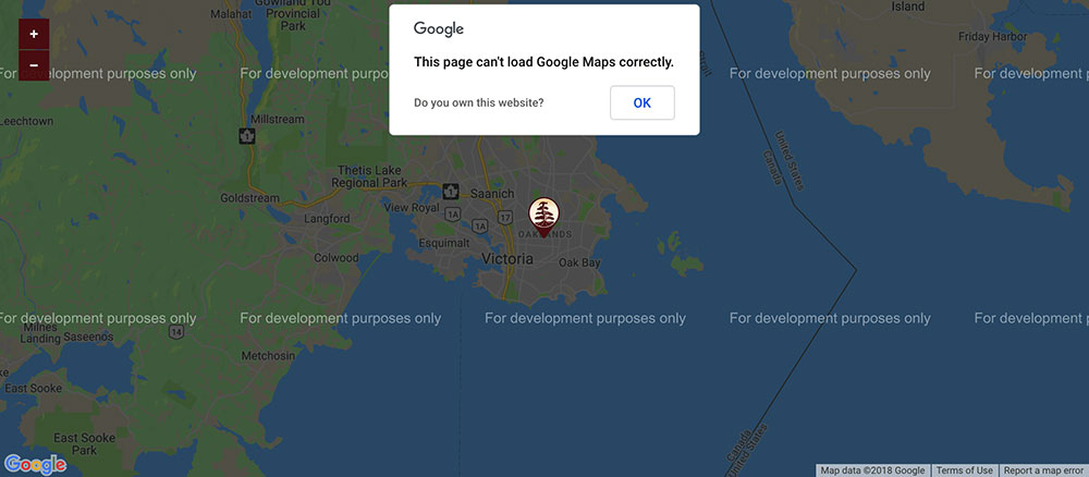 google-maps-development-purposes