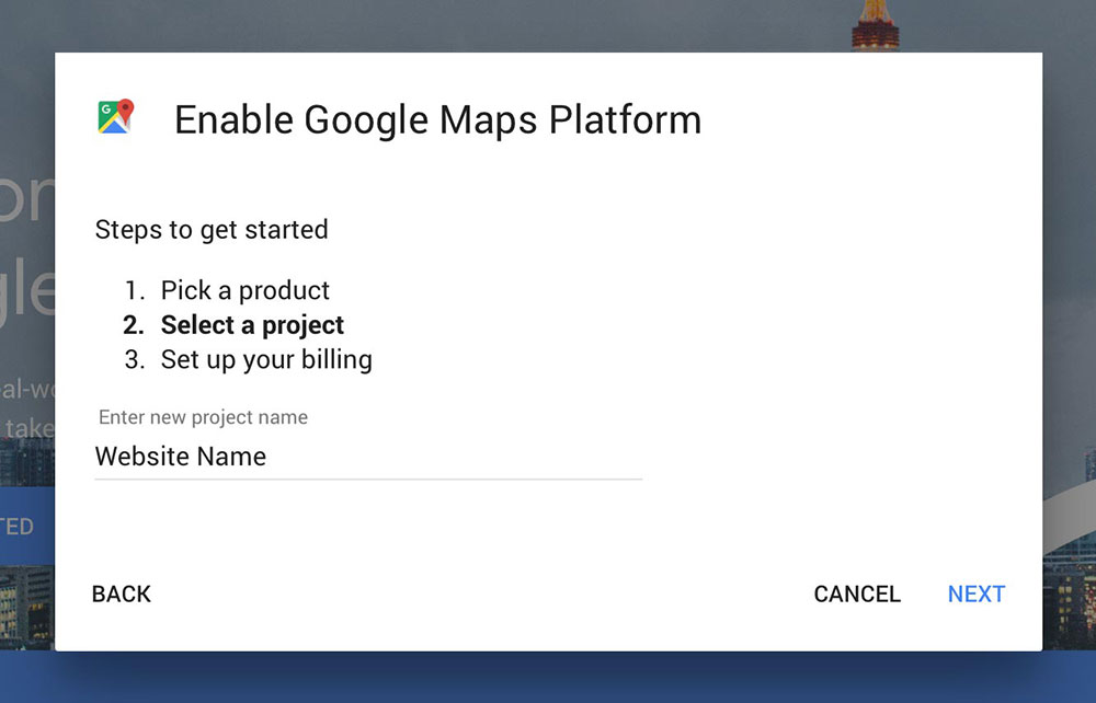 google-maps-project