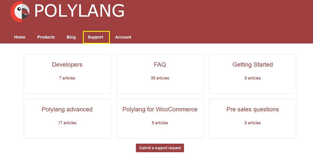 polylan-support