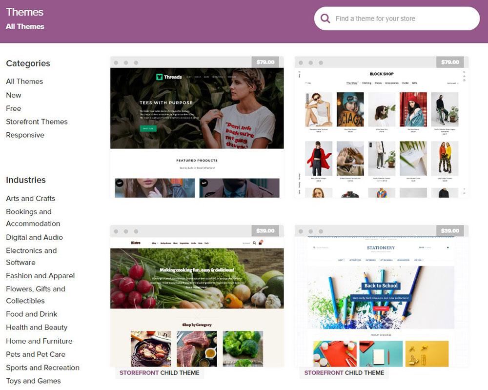 woo-commerce-themese