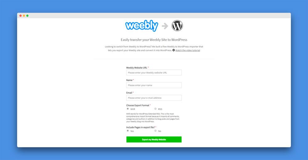 weekble-wordpress