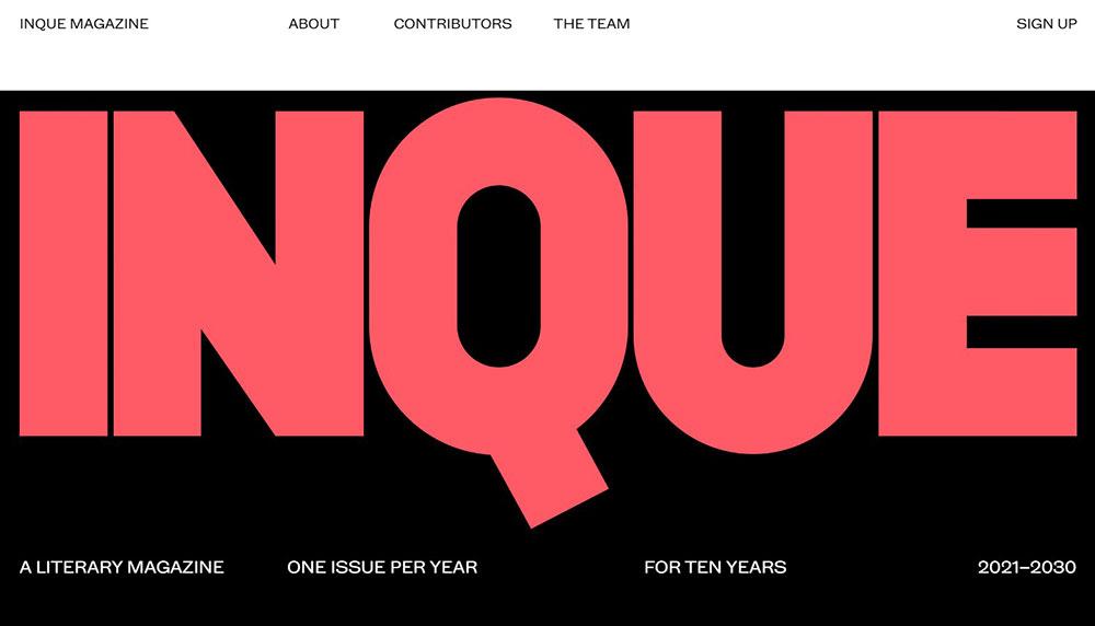Inque-Magazine