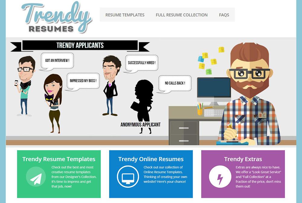 Trendy-Resumes