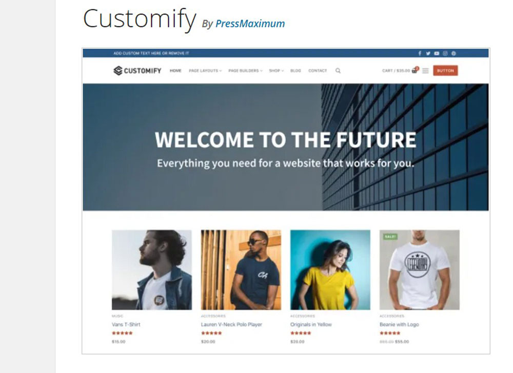 customify