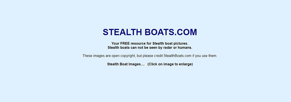 stealthboats