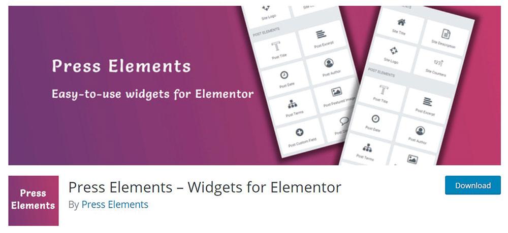 Press-Elements