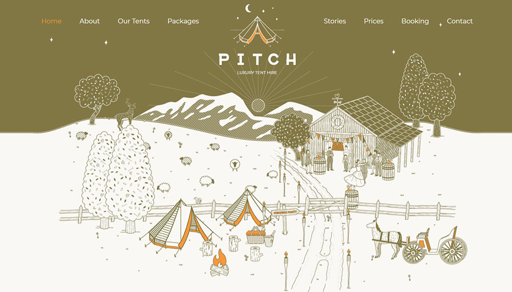 Pitch-Tent