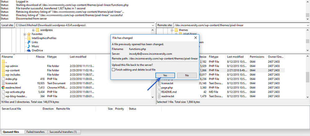 WordPress-Core-File-Replacement
