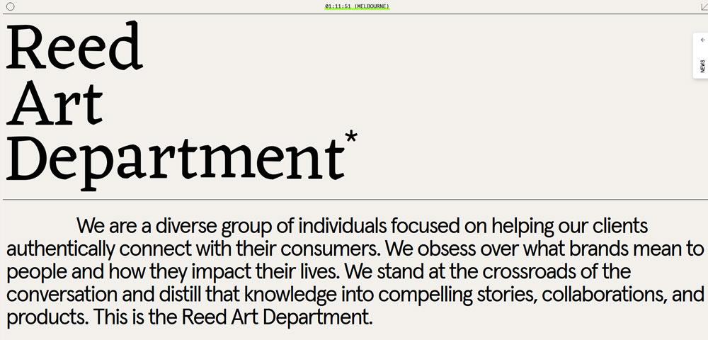 Reed-Art-Department