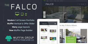 Falco - Responsive Multi-Purpose WordPress Theme