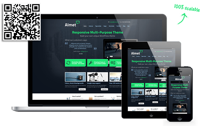 Almet - Responsive Multi-Purpose Theme