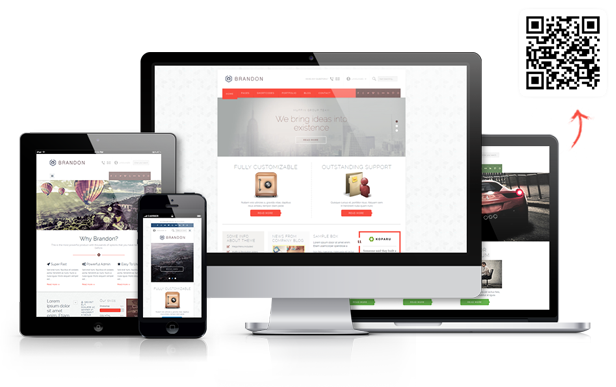 Brandon - Responsive Multi-Purpose WordPress Theme - 1
