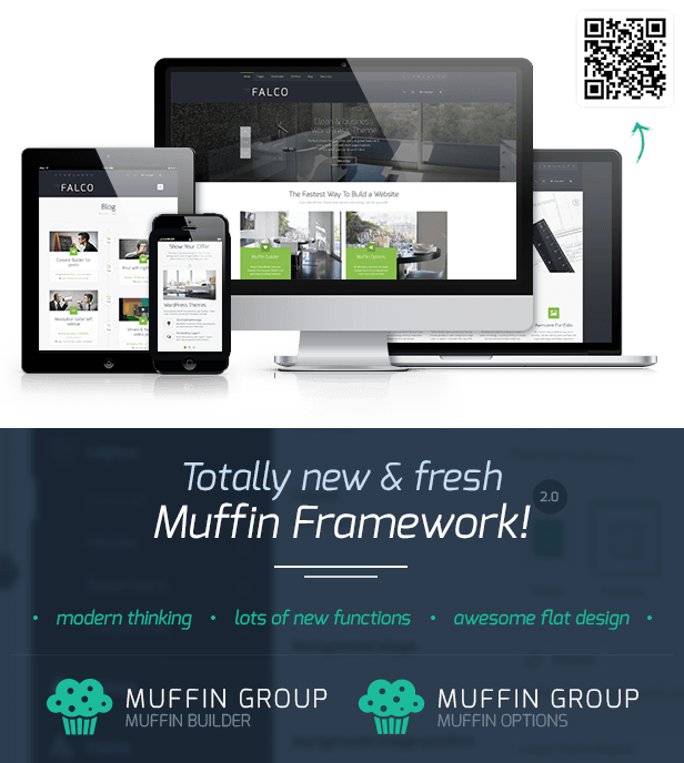 Falco - Responsive Multi-Purpose WordPress Theme - 1